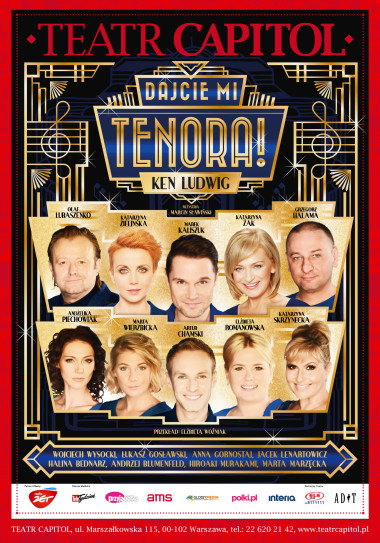Lend Me A Tenor With English Subtitles At The Capitol Theater