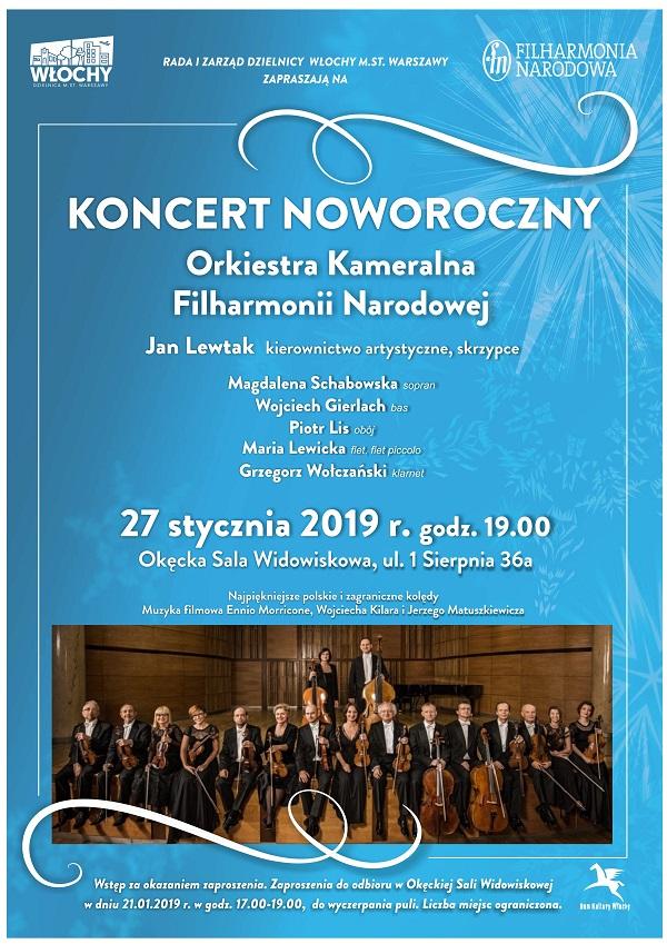 Wydarzenia Koncert Noworoczny Orkiestry Kameralnej Filharmonii