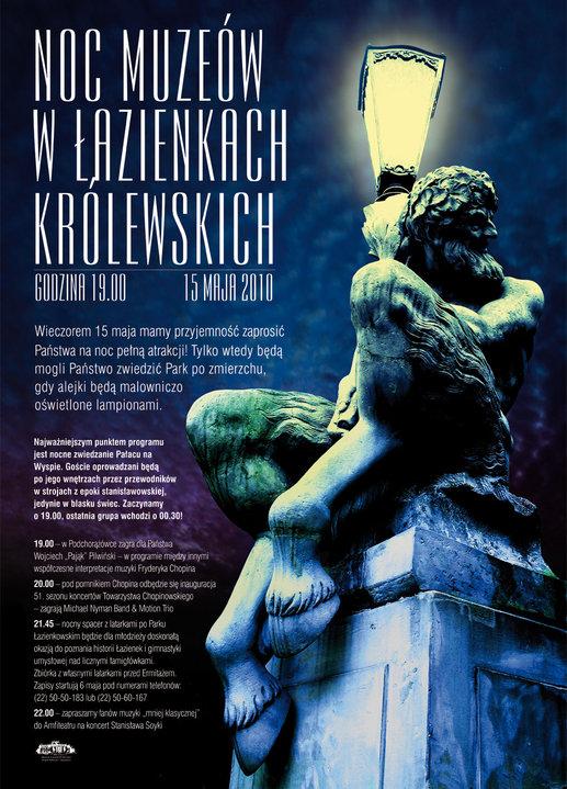 Wydarzenia Noc W łazienkach Królewskich Kulturalna Warszawa