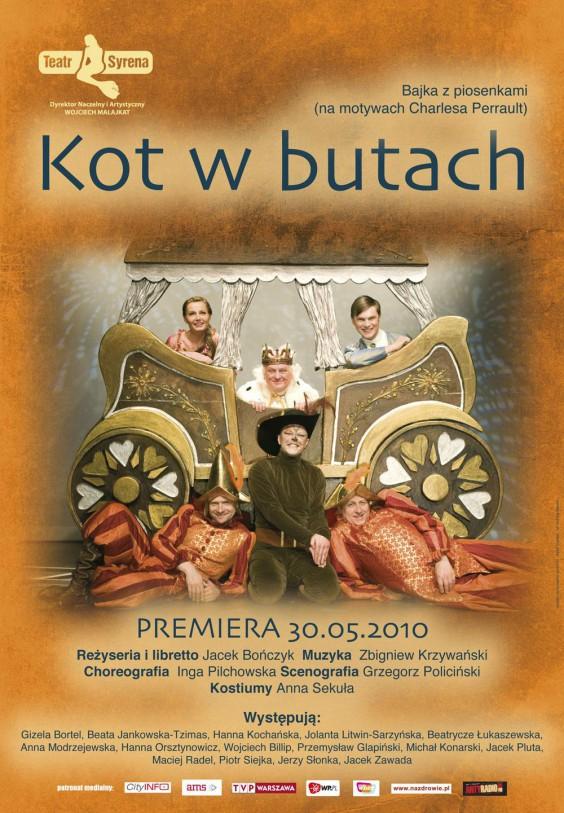 Wydarzenia Kot W Butach W Teatrze Syrena Kulturalna Warszawa