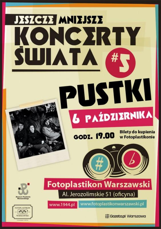 Wydarzenia Pustki W Fotoplastikonie Kulturalna Warszawa