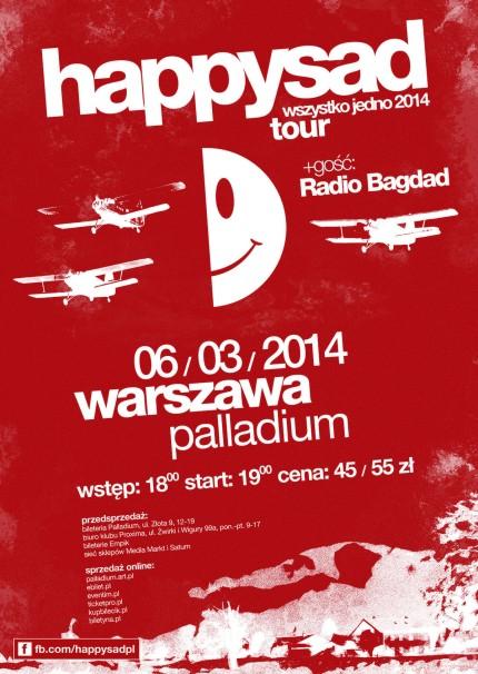 strona internetowa ze zniżką najniższa zniżka jak kupić Wydarzenia - Koncert: Happysad w klubie Palladium ...