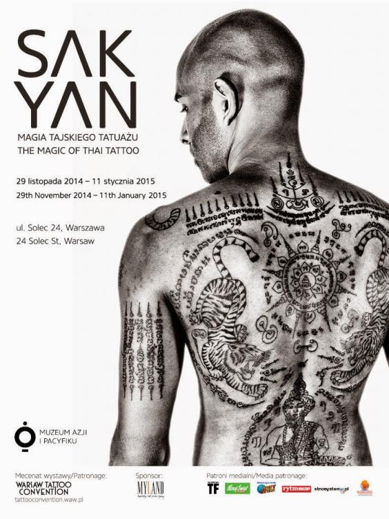 Wydarzenia Wystawa Sak Yan Magia Tajskiego Tatuażu W Muzeum