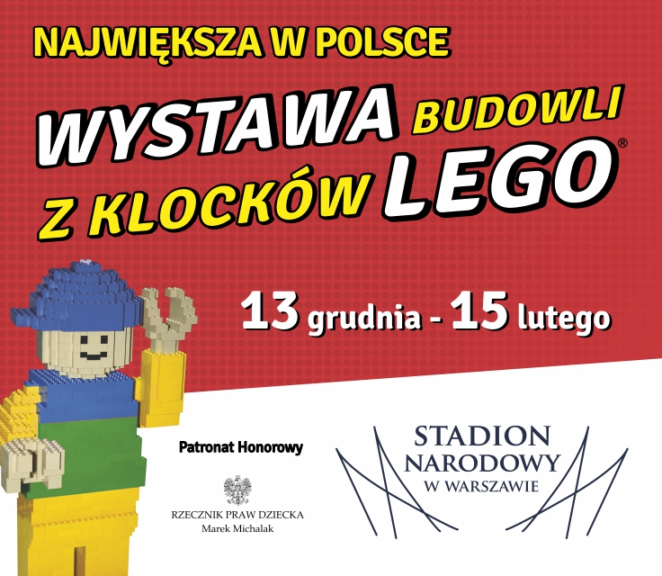 The Largest Lego Exhibition In Poland At The National Stadium